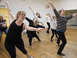 Members' activities: choreography