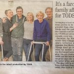 Haywire newspaper clipping, TODS