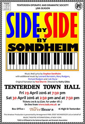 Side by Side by Sondheim